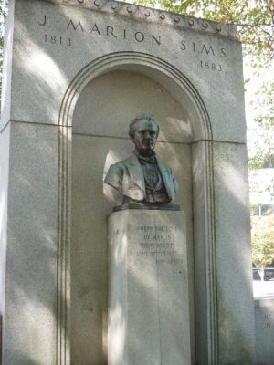 J. Marion Sims Monument