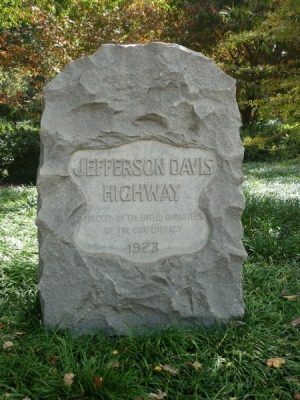 Jefferson Davis Highway Marker